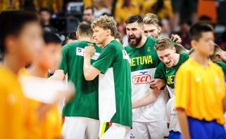 Lietuvos rinktinė sutriuškino kanadiečius ir iškovojo bilietą į kitą etapą