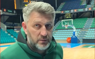 D.Maskoliūnas: visus varžovus vertiname ir gerbiame, bet mūsų komanda geresnė