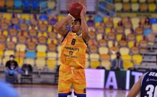 """38 taškus pelnęs Dimšos komandos draugas atvedė """"Gran Canaria"""" į pergalę"""