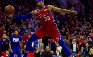 """""""76ers"""" neturi vilčių išsaugoti T.Harriso, puolėjas - keturių NBA klubų akiratyje"""