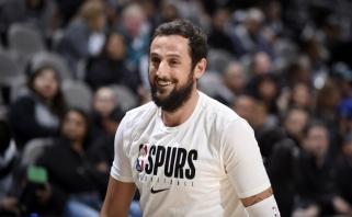 """""""Spurs"""" gynėjas M.Belinelli neabejingas: paaukojo lėšų koronaviruso krečiamai gimtajai Bolonijai"""