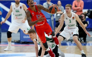 Eurolygos finalo MVP W.Clyburnas šį sezoną CSKA nebepadės