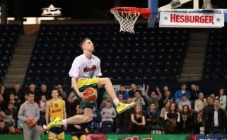 Kėdainių arenoje karaliaus jaunieji krepšininkai