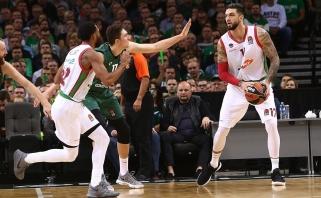 Geriausias Eurolygos kovotojas dėl kamuolių keliasi į NBA