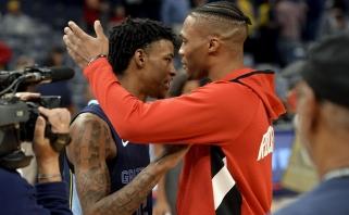 """""""Grizzlies"""" lyderis J.Morantas papasakojo apie R.Westbrooko duotą patarimą"""