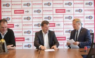 """Pagrindiniu NKL partneriu tapo interneto tiekėjas """"Mezon"""""""