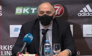 """Sirgalių arenoje pasigedęs Laso: """"Žalgiris"""" yra puikus pavyzdys Eurolygoje"""