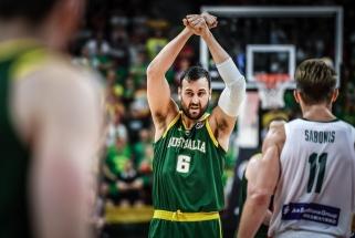 Australų milžinas Bogutas baigia karjerą ir Tokijo olimpiadoje nežais