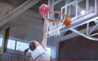 NKL dėjimų konkurse LMKL krepšininkei sužibėti nepavyko