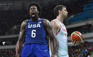 Ispanai sensacijos nepateikė: Rio žaidynių finale - JAV rinktinė