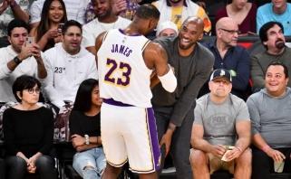 Ch.Barkley: jei LeBronas taps čempionu, jis pakils iki Kobe lygio