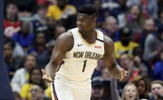 NBA klubo vadovas: lyga tikisi, kad Zionas sugebės padidinti NBA populiarumą