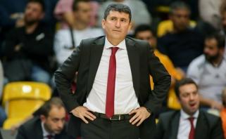 """Tirpsta """"Fenerbahče"""" alternatyvos Š.Jasikevičiui: """"Galatasaray"""" strategas pratęsė sutartį"""