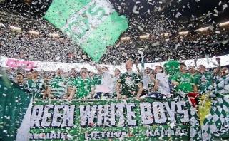 """Įspūdingas atsisveikinimas su Eurolyga: """"Žalgirio"""" arenoje - lankomumo rekordas"""