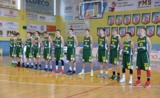 Jaunieji krepšininkai įgūdžius tobulino Italijoje