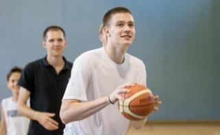 """M.Blaževičius: buvo """"Žalgirio"""" pasiūlymas, bet Vilniuje didesnis šansas būti geresniu žaidėju"""