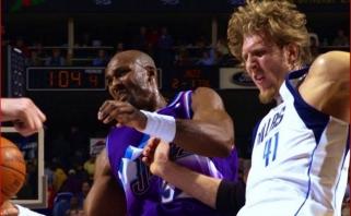 D.Nowitzki aplenkė K.Malone'ą ir pakilo į ketvirtą vietą NBA pagal sužaistus mačus