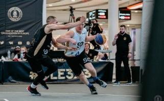 Lietuvos 3×3 krepšininkai ketvirtfinalyje nusileido vienai geriausių pasaulio komandų