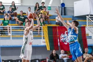 Šešiolikmečiai Europos čempionate trinktelėjo durimis mače su slovėnais