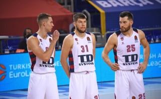 """""""Unicajai"""" nusileidusi """"Baskonia"""" smuktelėjo ACB pirmenybių turnyro lentelėje"""