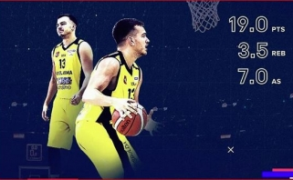 NKL savaitės MVP - du asmeninius rekordus užfiksavęs K.Babkauskas