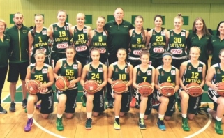 Lietuvai - U16 merginų Europos čempionato B diviziono auksas