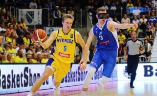 Prienų klube – šešis sezonus ACB lygoje praleidęs Švedijos rinktinės įžaidėjas