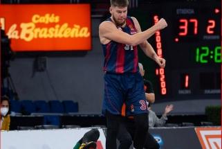 Karjeros rekordus gerinęs Sedekerskis bei Giedraitis atvedė baskus į dramatišką pergalę