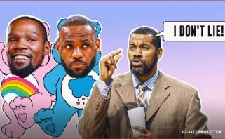 Sabo bendražygis: mano laikais LeBronas ir Durantas nežaistų taip sėkmingai