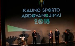 """""""Kauno sporto apdovanojimai 2018"""": """"Žalgirio"""", Š.Jasikevičiaus ir """"Žalgirio"""" arenos triumfas"""