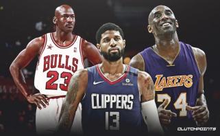 P.George'as: man nebūtų sunku žaisti kartu su Jordanu, juk užaugau stebėdamas Kobe