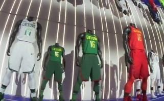 Pristatytos aprangos, kurias Rio de Žaneire vilkės krepšininkai