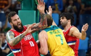 Nepadorus pusfinalis: lietuvius triuškinę australai - bejėgiai prieš Serbiją