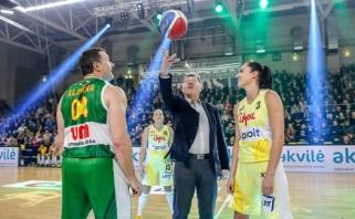 V.Alekna: moterų krepšinis turi šviesią ateitį