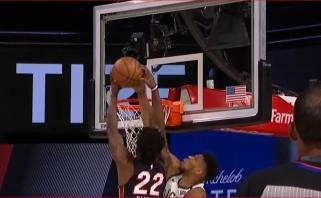 Giannio blokas J.Butleriui - gražiausias NBA nakties epizodas