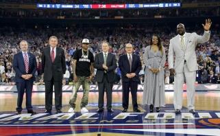 NBA legendų pagerbime - A.Iversono ašaros, Shaqo juokeliai ir prisimintas A.Sabonis