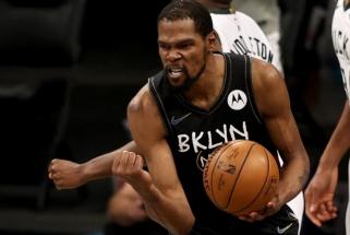 """Durantas suvertė pusšimtį taškų, """"Nets"""" – per žingsnį nuo konferencijos finalo"""