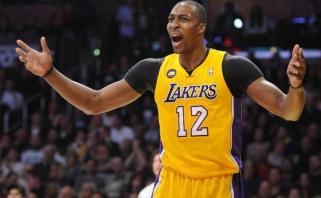 """D.Howardas numetė svorio ir pažadėjo """"Lakers"""" pakeisti požiūrį į žaidimą"""