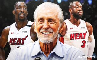 """Heat"" prezidentas P.Riley: B.Adebayo man primena D.Wade'ą"