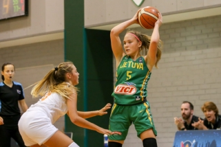 Baltijos taurės turnyre merginos per pratęsimą įveikė baltaruses ir užėmė antrą vietą