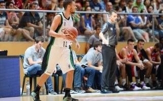 """Š.Vasiliauskas varė į neviltį """"Anadolu Efes"""" gynybą"""