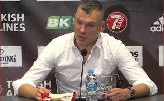 """""""Žalgiriui"""" padėti vis dar norintis Jasikevičius – apie Blaževičiaus situaciją, žalias kojines ir dėmesį Ispanijoje"""