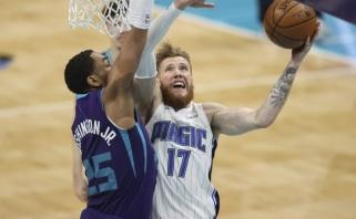 Dar vieno šanso sulaukęs Brazdeikis NBA lygoje gerino asmeninius rekordus