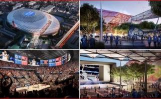 """""""Clippers"""" sudarė didžiausią sandėrį NBA istorijoje dėl arenos vardo pardavimo"""