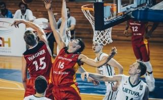 Lietuviai Europos čempionate įveikė vokiečius ir kovos dėl penktos vietos