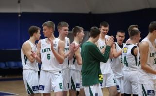 Penkiolikmečiai turnyrą Maskvoje baigė nepadoriu skirtumu sutriuškindami čekus