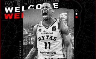 """""""Ryto"""" atakoms diriguos Europoje debiutuosiantis amerikietis su NBA patirtimi"""