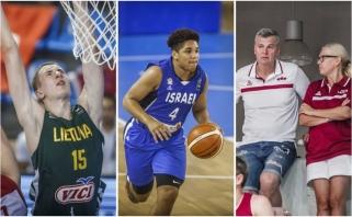 Koks tėvas, toks ir sūnus: Europos jaunučių čempionate žiba garsių krepšininkų vaikai