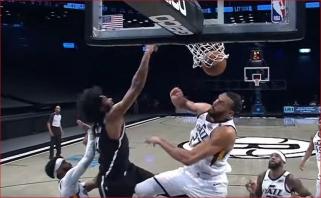 Irvingo perdavimas per nugarą ir dėjimas per Gobertą - gražiausias NBA nakties momentas