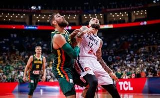 """""""Knicks"""" atleidžia Prancūzijos rinktinės vidurio puolėją"""